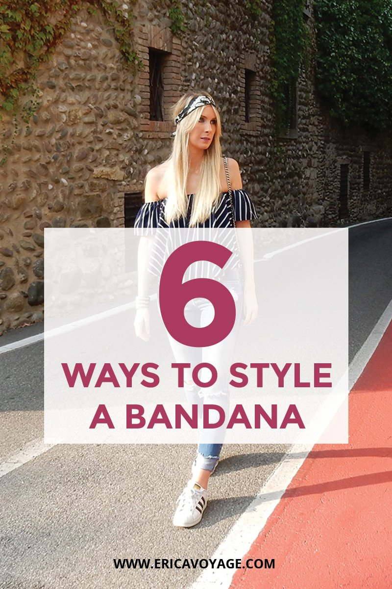 How to style a bandana: 6 amazing ways to show off your outfits