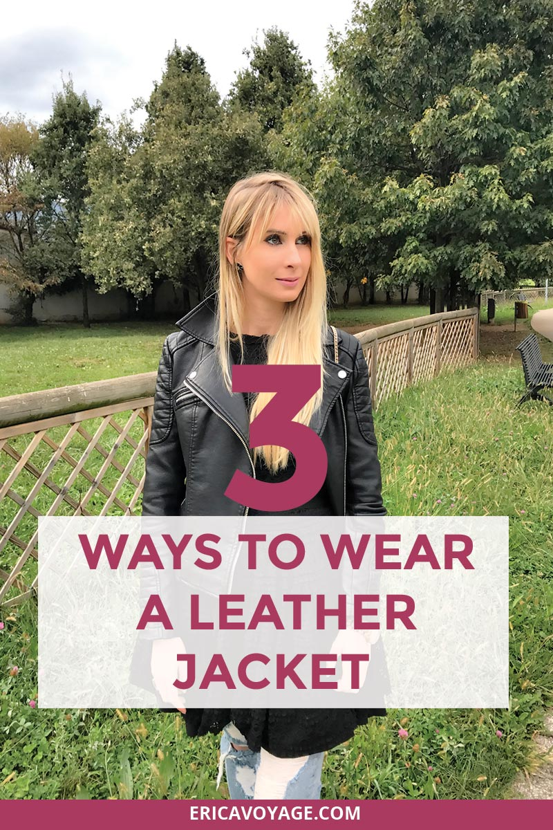How to wear a leather jacket without looking like everyone else