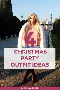 Here you can find 4 Christmas party outfit ideas to be edgy and beautiful during your holidays. I created for you 4 outfits that look stylish and modern.