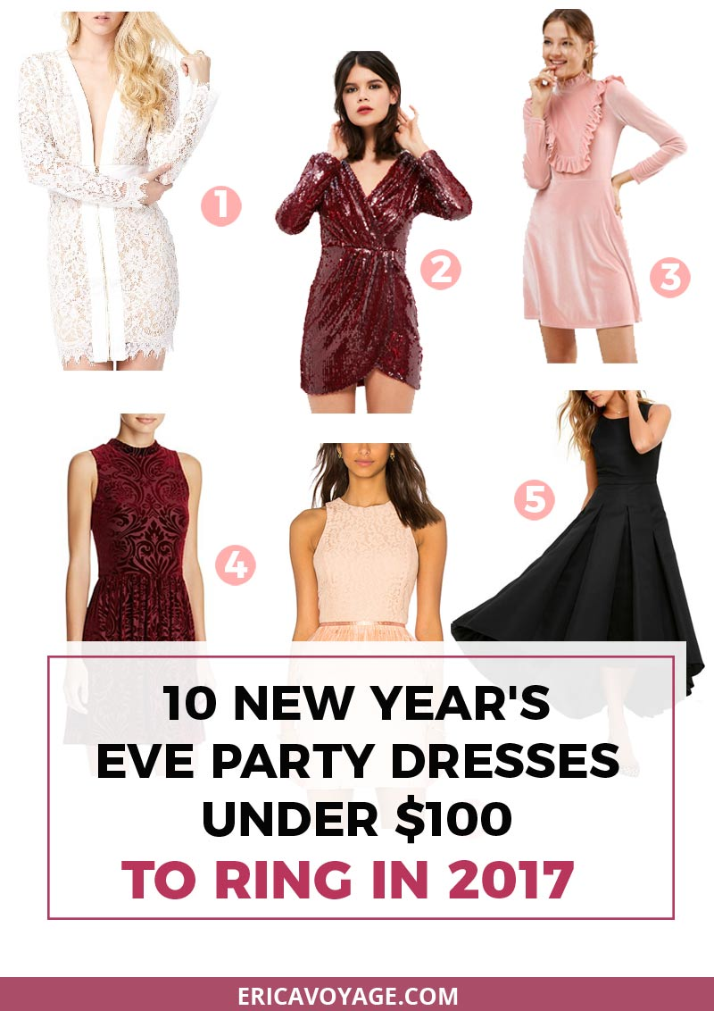 10 New Year's Eve party dresses under $100 to ring in 2017