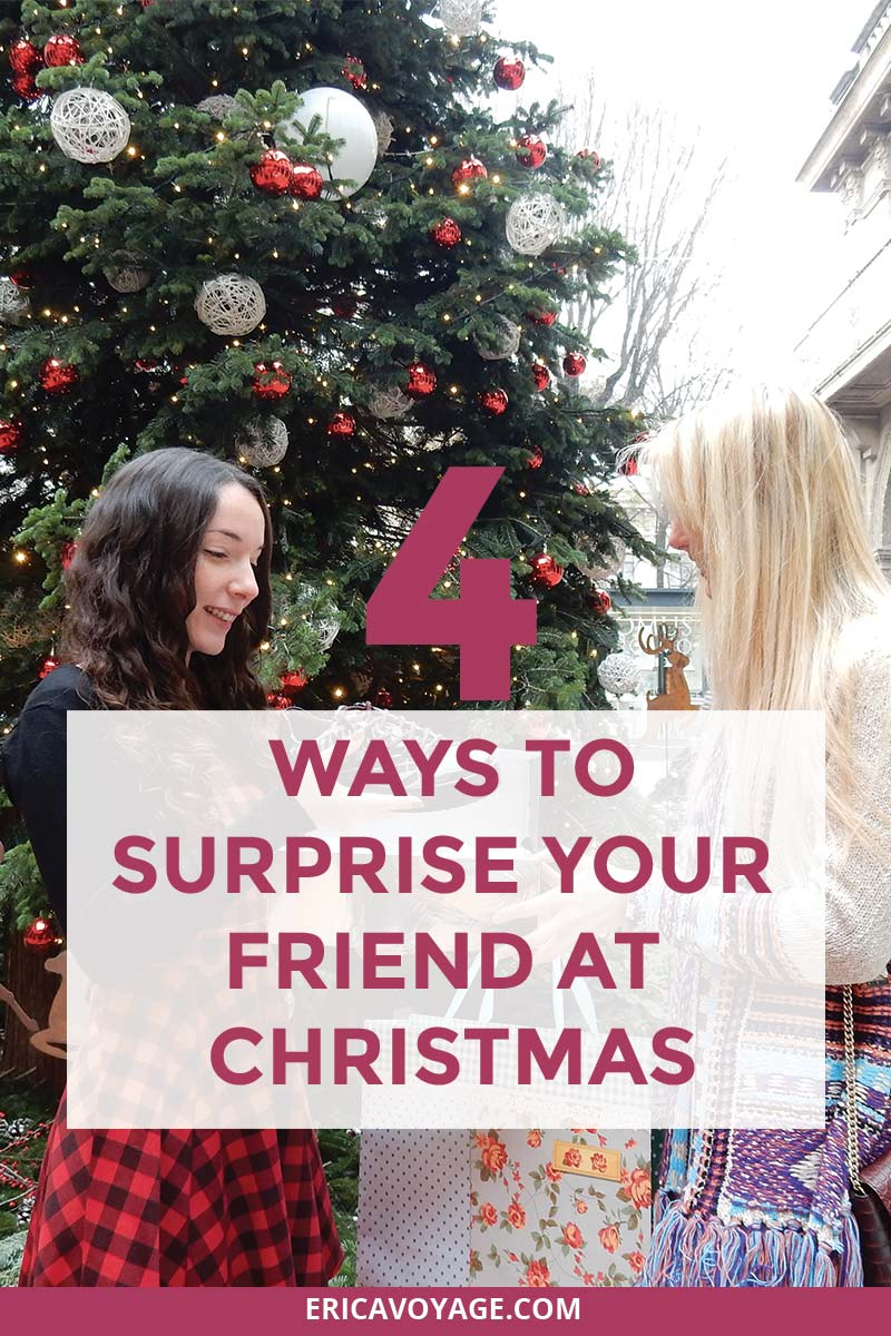 How to surprise your friend at Christmas: 4 original ways
