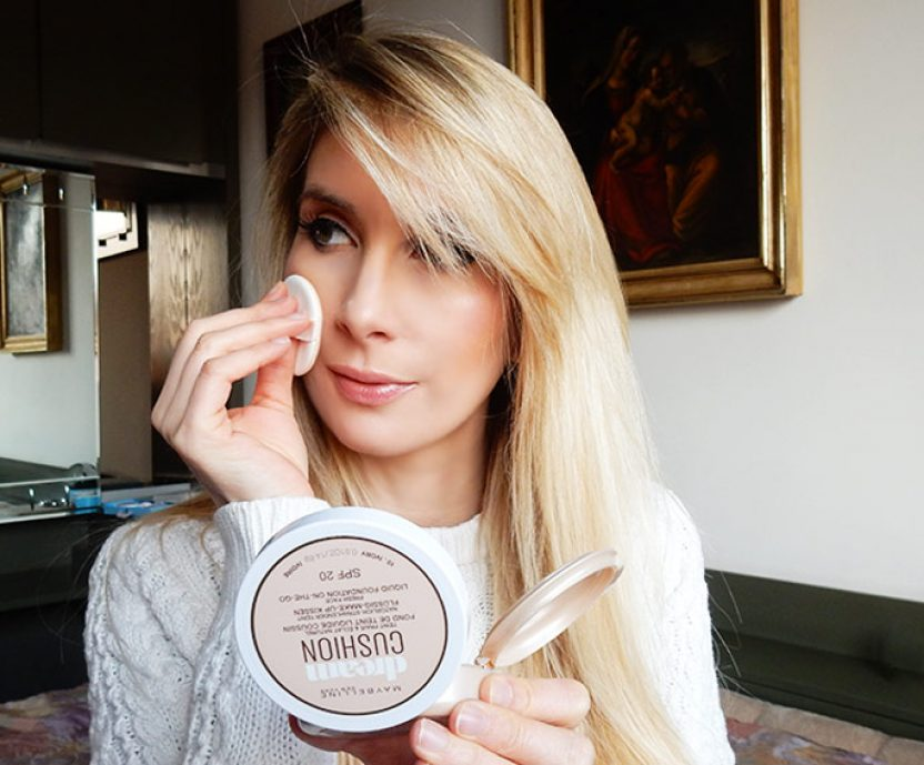 Dream cushion di Maybelline: il fondotinta leggero ma coprente