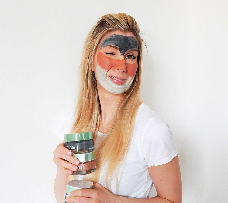 Detox mania: le nuove maschere argilla pura l'Oréal Paris